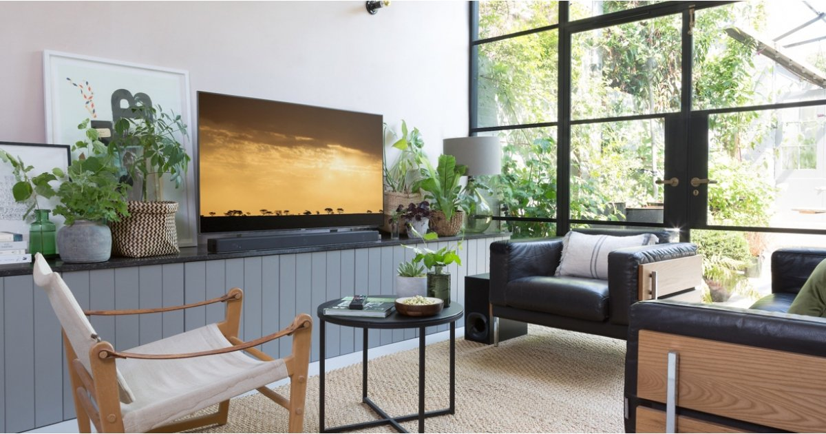 How To Make Sure Your Tv And Soundbar Don T Spoil Your Living Room Style