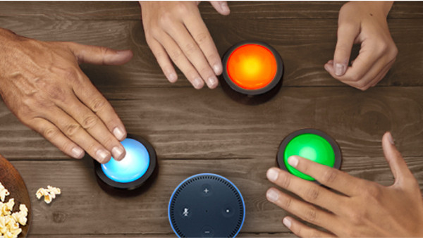 How to set up Echo Buttons and use them to trigger Alexa