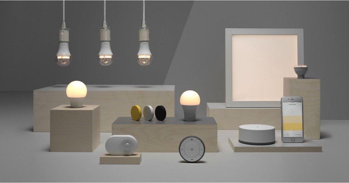 Luces Ikea Trådfri en Google Home