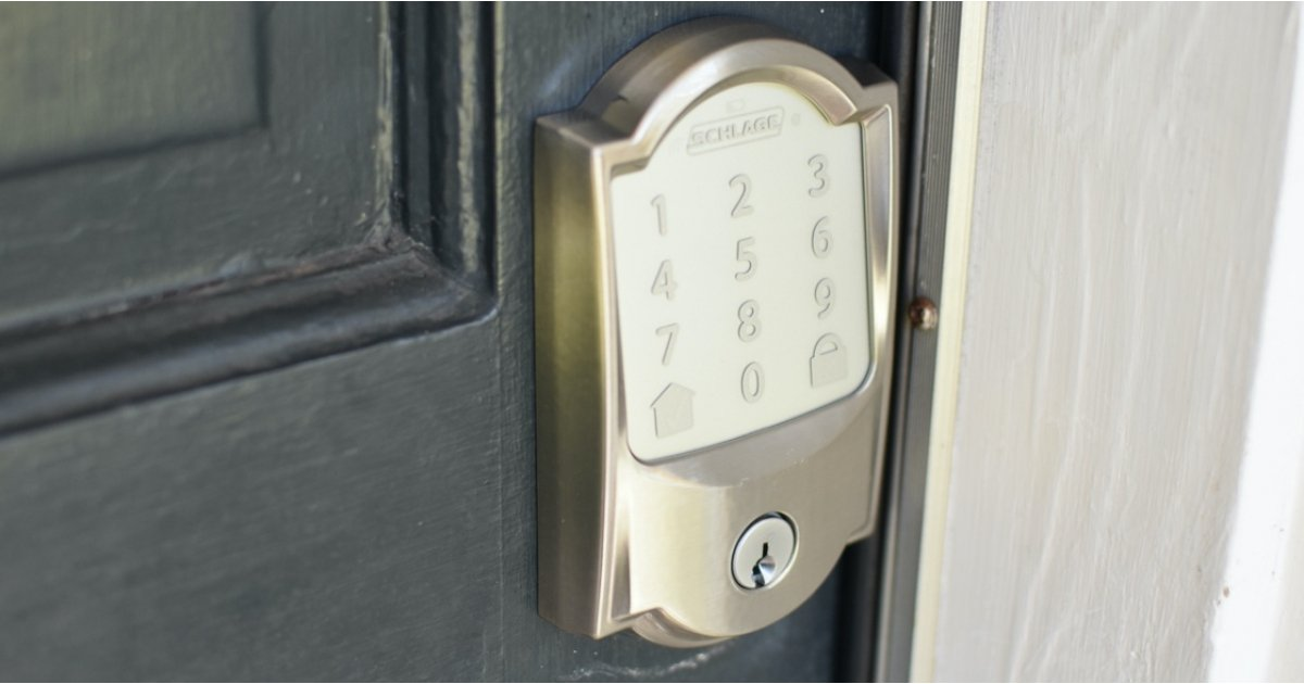 Schlage Encode's Wi-Fi lock goes hub free for a simple smart home