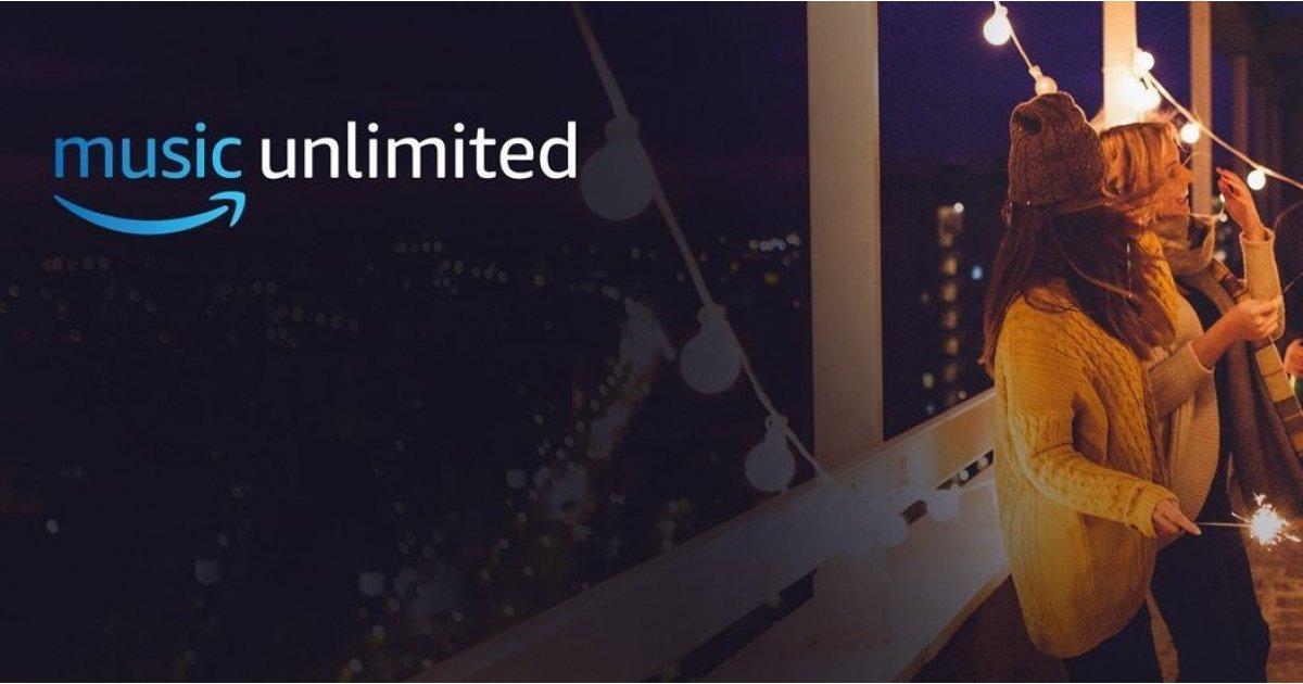 Amazon Music Unlimited quiere darte 3 meses gratis
