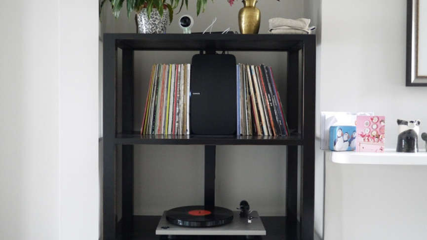 Can i hook up a turntable to sonos
