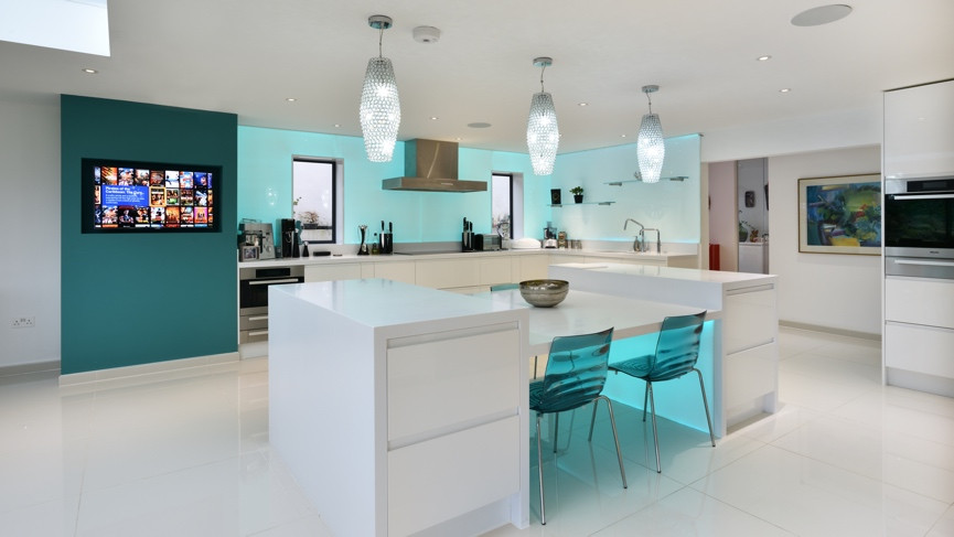 Smart home tours: This family home mixes high end movie kit and ...