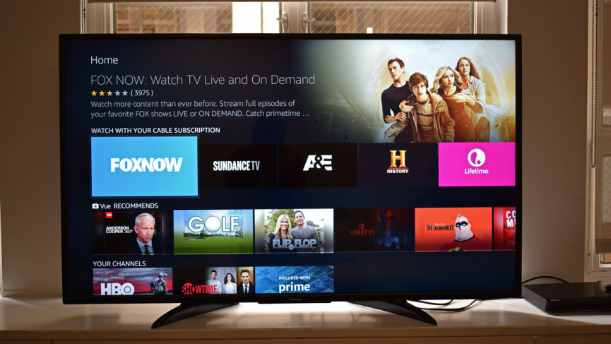 Toshiba's Fire TV puts Amazon and Alexa at the forefront