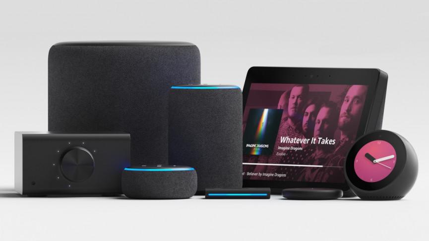 Línea de altavoces Alexa Smart Home