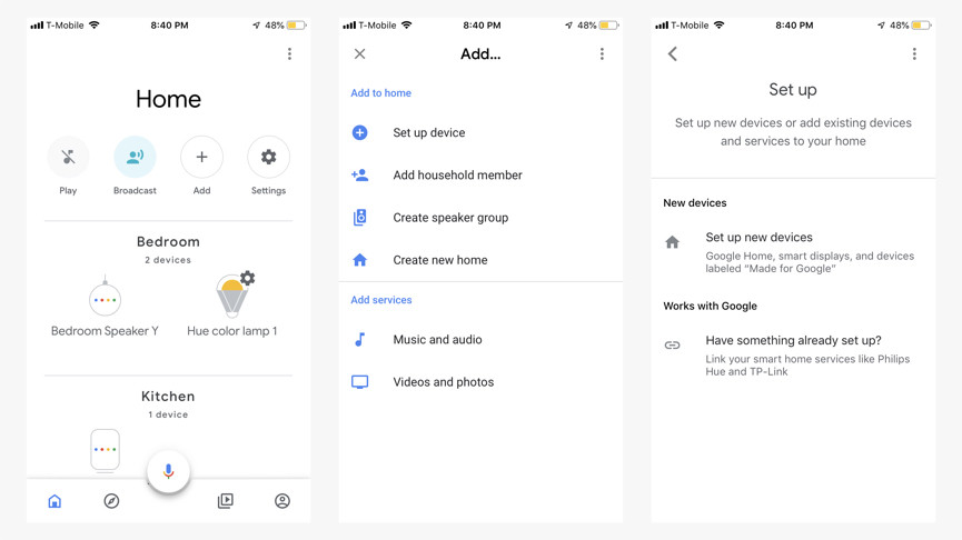How to add and control devices with Google Assistant and