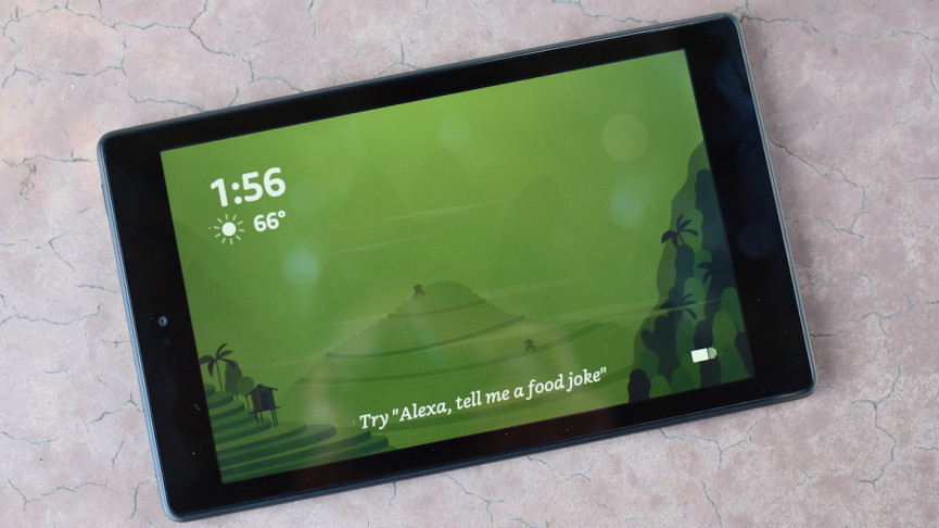 Fire it up: Using the Amazon Fire Tablet in Show Mode