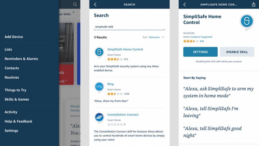 How to Make SimpliSafe Work With Alexa?