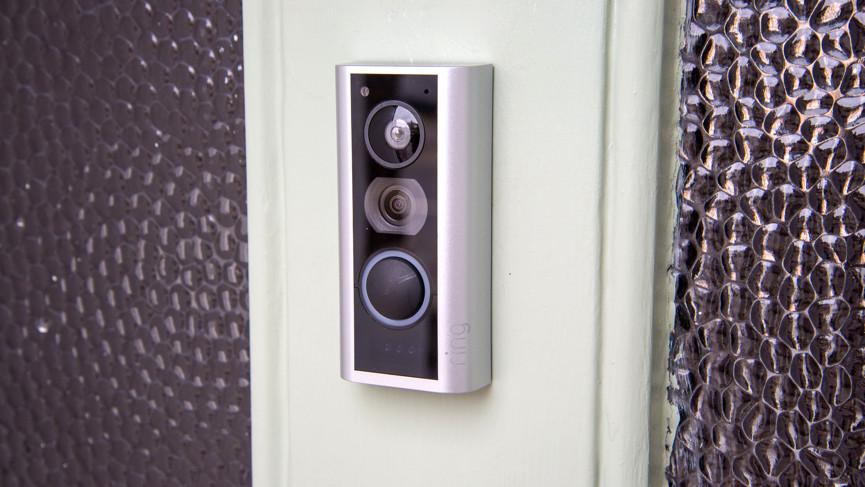 Ring Peephole Cam doorbell