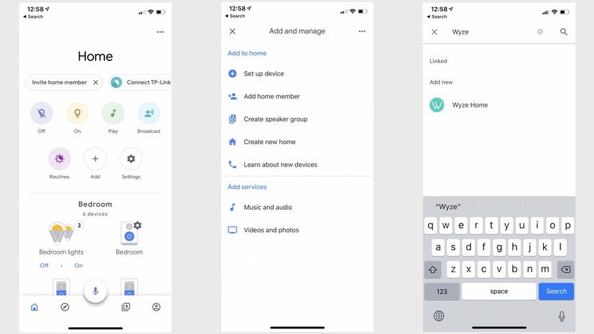 How to connect the Wyze Cam and Bulbs to Alexa and Google