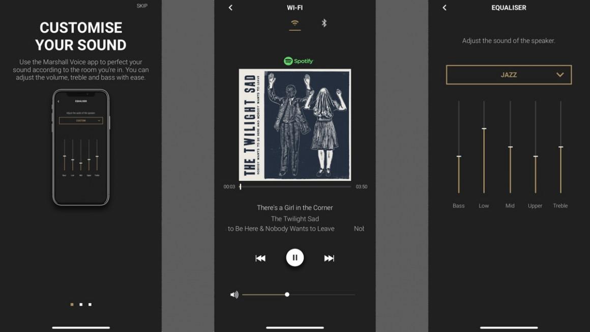 Marshall Uxbridge Voice app and multi-room