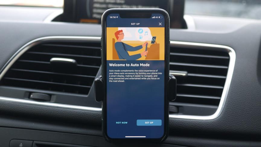 Echo Auto Alexa para su automóvil