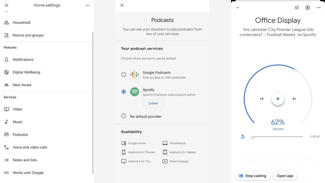 Cómo reproducir podcasts con Assistant en tu Google Home